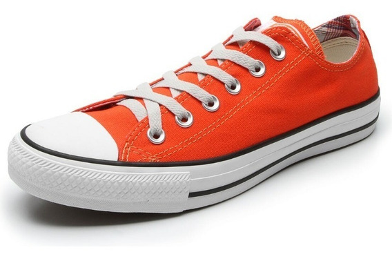 Converse All Star Ct As Core Ox Laranja Adulto Infantil
