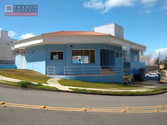 Casa Residencial Para Locação, Condomínio São Domingos - Ca0182