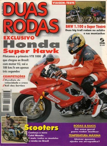 Duas Rodas N°263 Honda Super Hawk Vtr 1000 Bmw 1100 Ténéré