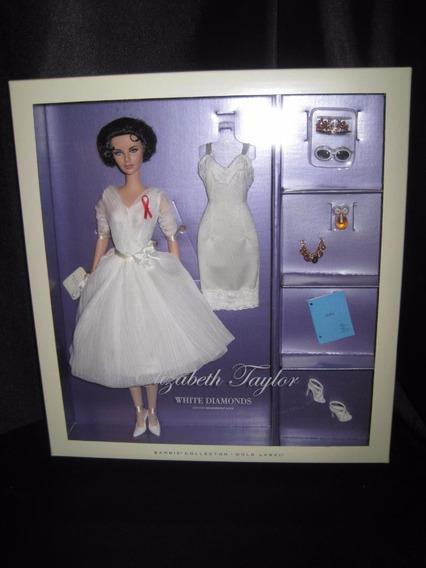 Barbie Silkstone Elizabeth Taylor White Diamonds