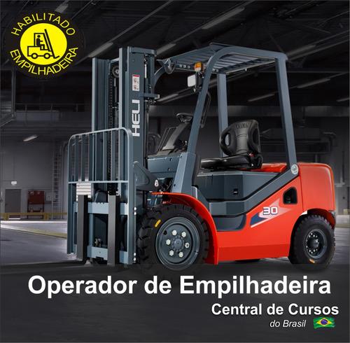 Curso De Operador De Empilhadeira - Reciclagem