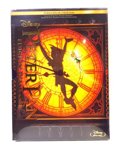 Disney Bluray Peter Pan + Peter Pan  Regreso A Nunca Jamás
