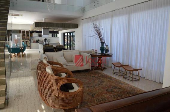 Casa Residencial À Venda, Residencial Quinta Do Golfe, São José Do Rio Preto. - Ca0836