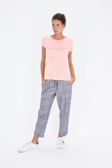 Bonjour Lulu Oficial - Remera Rosa Cata S4852 S4862