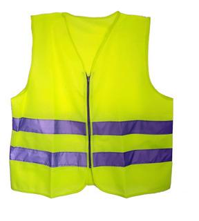 Chaleco Seguridad Reflejante Brigadista Industrial Amarillo