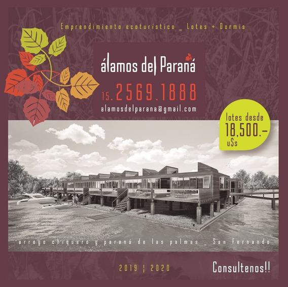Lotes Delta Isla De San Fernando Terrenos Álamos Del Paraná