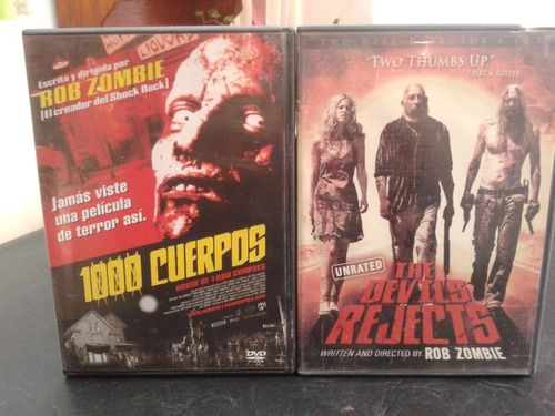 Rob Zombie-coleccion-house 1000 Corpses-devils Rejects-dvd