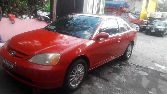 Honda Civic Rojo 2001