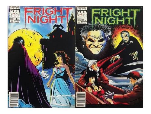 Fright Night #14-15 - Now Comics 1989 - Hora Del Espanto