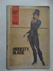 Modesty Blaise Nº 2! Minami E Cunha 1972! Raríssima!
