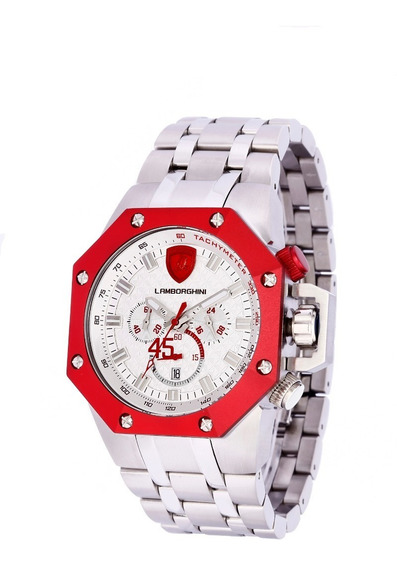 Relógio Masculino Lamborghini Lb90008663m - Coleção Huracan