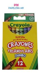 Crayones Crayola Triangular Jumbo C/12