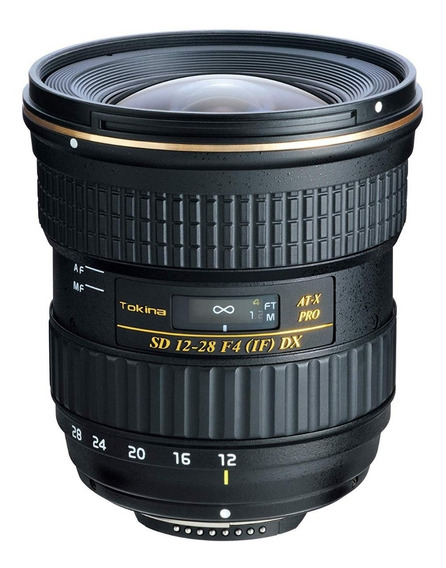 Tokina At-x 12-28mm F4 Pro Dx P/ Canon Lente Grande Angular