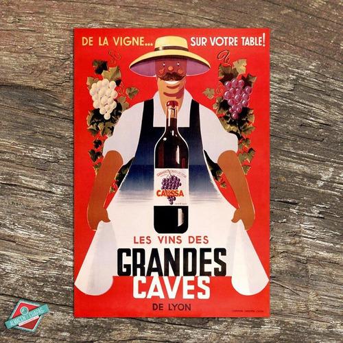 Publicidad Retro Vintage - Vinos Caces