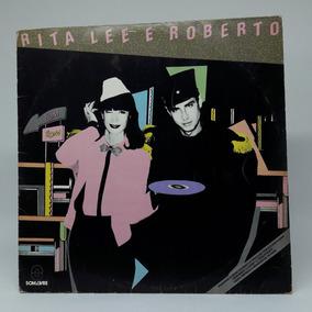 Lp Rita Lee E Roberto Bombom Disco De Vinil Encarte