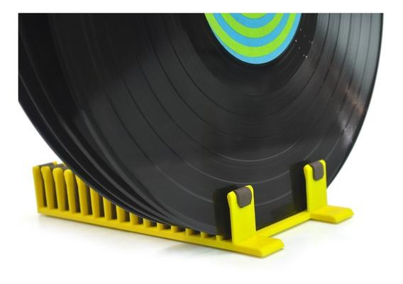Escorredor Suporte P\ Limpar Limpeza Secagem Disco Vinil