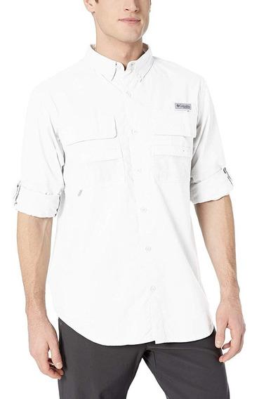 Columbia Camisa Xxl Strech Checar Medidas