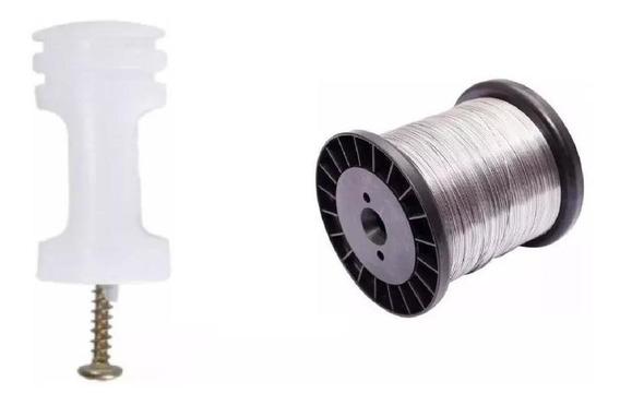 Kit Isolador Para Haste 200 Peças E Bobina 0,45
