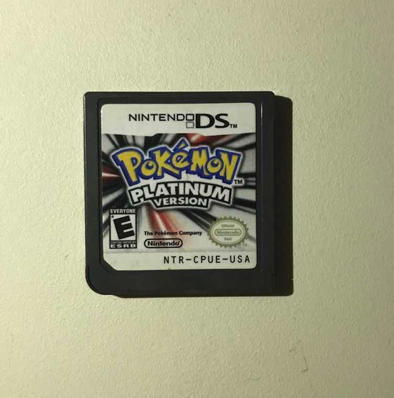 Pokemon Platinum-100% Original
