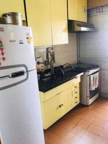 Apartamento Com 2 Dormitórios Para Alugar, 55 M² Por R$ 1.500,00/mês - Vila Guarani (zona Sul) - São Paulo/sp - Ap1329