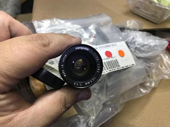 Lente Objetiva Computar 12.5mm 1:1.3 Japan !