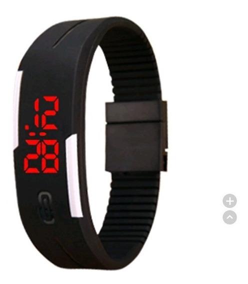 Relógio Pulseira Digital Led ( Kit Com 03 Unidades )