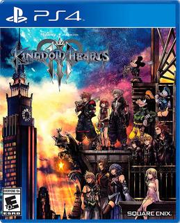 Kingdom Hearts 3 Ps4 Fisico Nuevo Sellado
