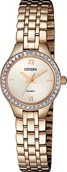Relógio Feminino Citizen Tz28539o 22mm Aço Rose