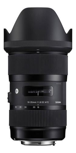 Lente Sigma 18-35 Mm F / 1.8 Art Dc Hsm Canon O Nikon Aps-c
