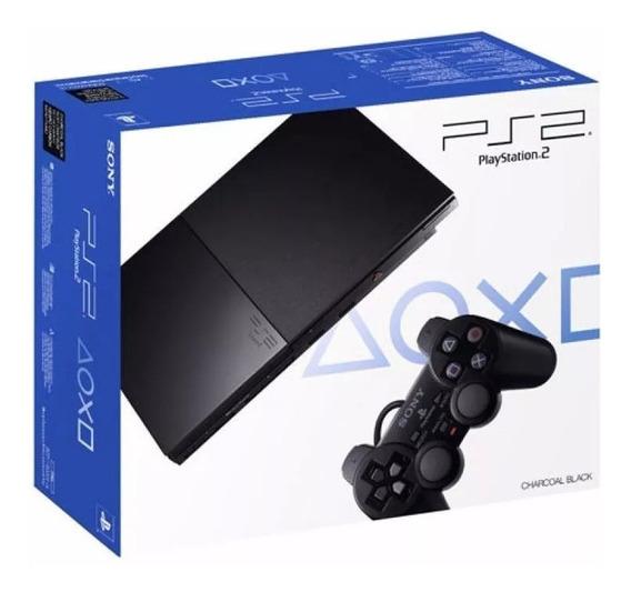 Caja Playstation2 Slim Ps2 Nuevas Envíos