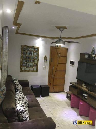 Apartamento Com 2 Dormitórios À Venda, 57 M² Por R$ 135.000,00 - Cooperativa - São Bernardo Do Campo/sp - Ap1310