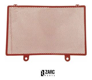 Protetor Radiador Kawasaki Z900 Naked 2017 - 2021 Vermelha