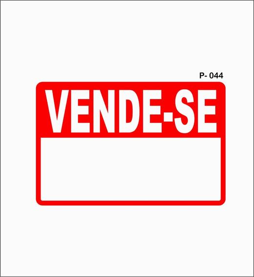 Placa Vende - Se Ou Aluga-se (kit 10 Unidades)