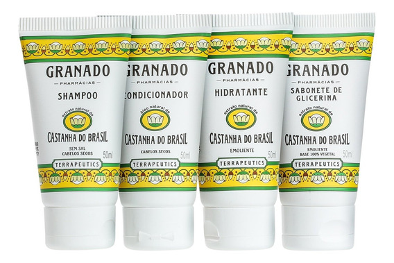 Granado Terrapeutics Kit Amenities Castanha Do Brasil Blz