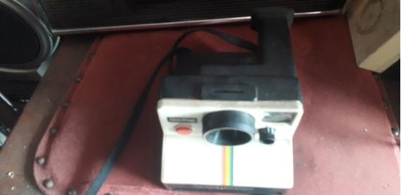 Polaroid One Step Câmera Fotográfica Antiga Funcionando Rara
