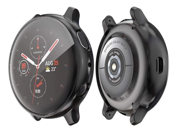 Case De Proteção Para Galaxy Watch Active 2 44 Mm - Preto
