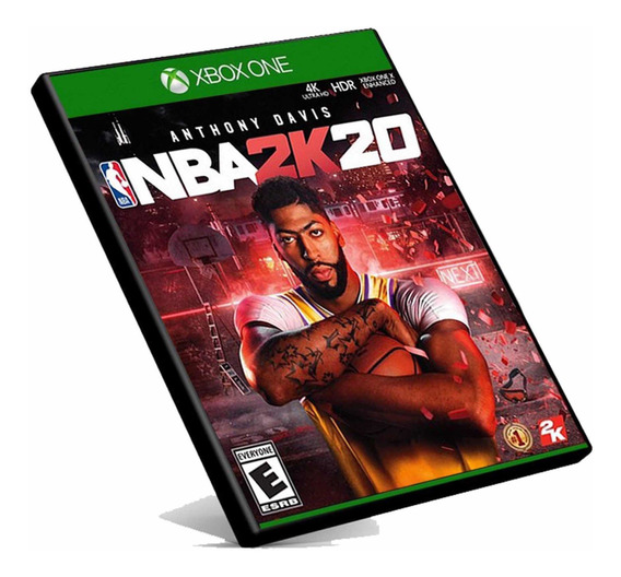 Nba 2k20 Xbox One Mídia Digital + Brinde