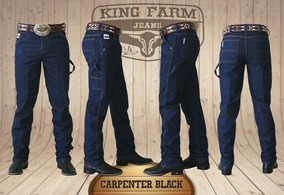 Calça Jeans King Farm Carpinteiro Black King