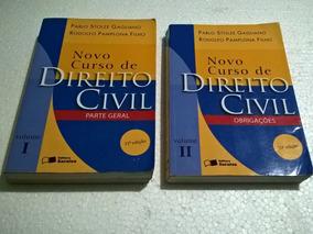 Livro Novo Curso De Direito Civil - Vol. 1 - 2