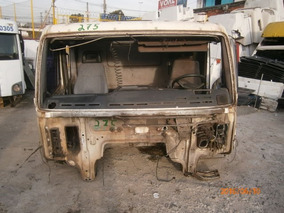 Cabine Volvo Nh - Montada Parcial - Com Portas - Branca