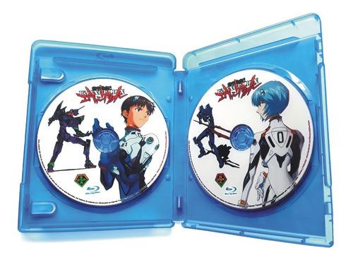 Serie Evangelion +director´s Cut+peliculas Bluray Disc 1080p