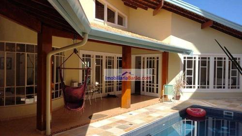 Casa Com 4 Dormitórios À Venda, 265 M² Por R$ 1.200.000,00 - Cidade Universitária - Campinas/sp - Ca1238