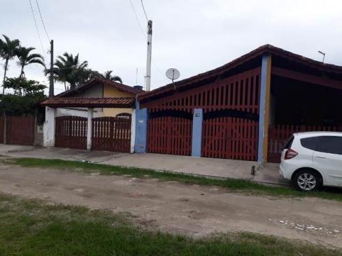 Casa Geminada Com Mobiliá A 1,2km Do Mar Em Itanhaém - 0069-cs