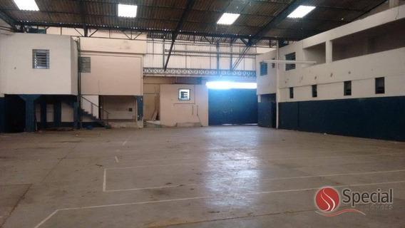 Galpão Industrial Para Locação, Vila São João, Ferraz De Vasconcelos - Ga0571. - Ga0571
