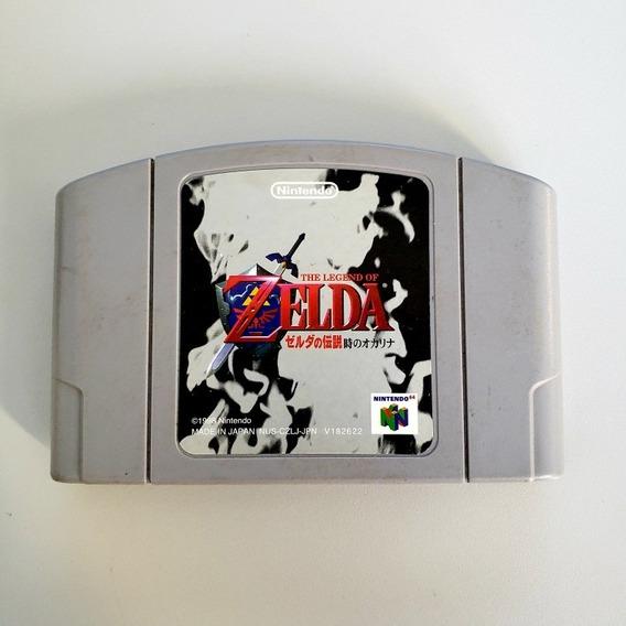 The Legend Of Zelda Ocarina Of Time Original N64 Japonês
