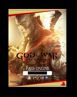 God Of War Ascension Online Pass / Pase Online ~ Ps3 Digital