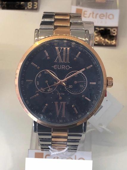 Relógio Euro Feminino Analógico Bicolor Eu6p29ahb/5a