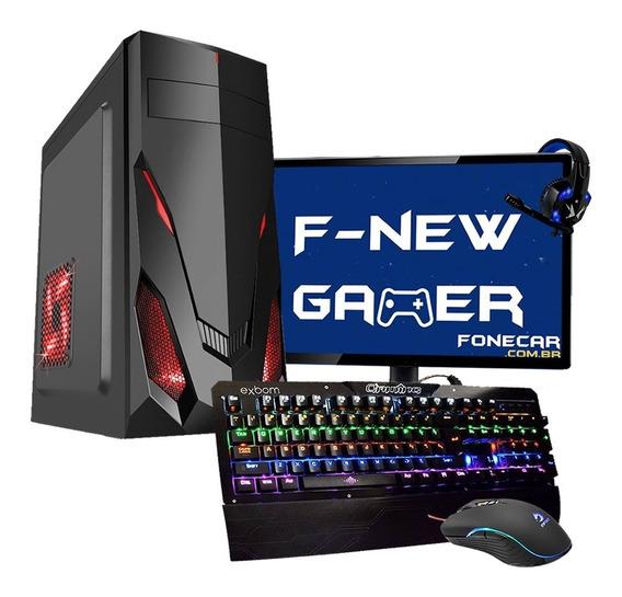Pc Gamer Completo I7 16gb Ssd120 Gb Hd 1tb Gtx 1650 Monitor