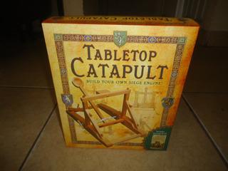 Tabletop Catapult Libro Y Material Para Armar Catapulta +++