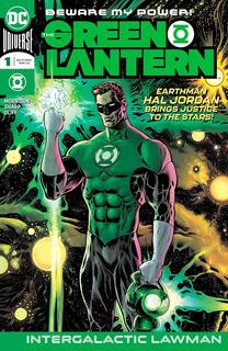 The Green Lantern #1 (2018) Hal Jordan Dc Comics